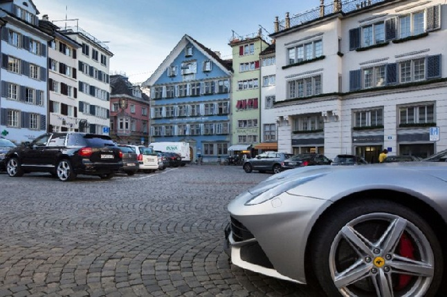 Zurich city parking