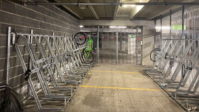 Secure bike parking UK Ireland